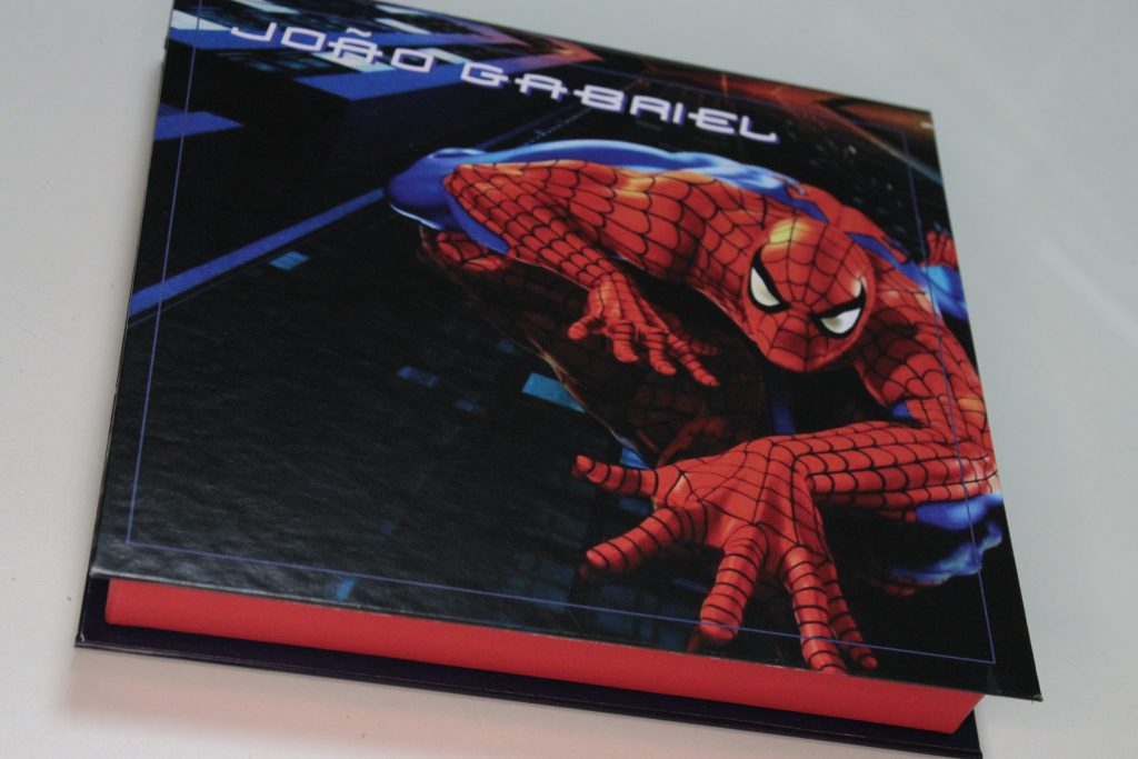 Caixa Homem Aranha